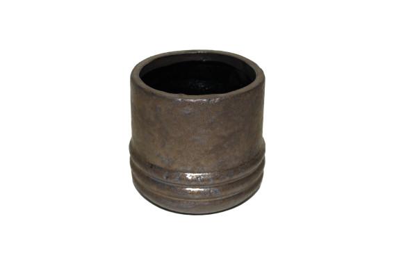 Keramiek Pot Noli D19*18cm Brons
