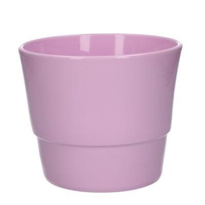 Keramiek pot kim d16*13.5cm pink