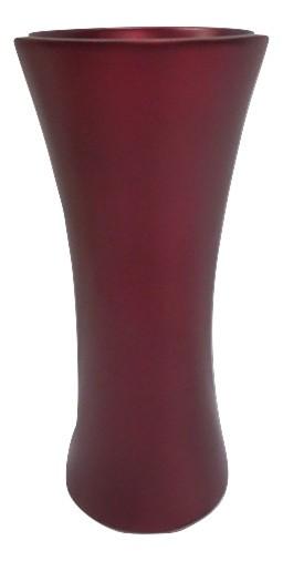 Vase Daone E Matt Dark Red D13H28