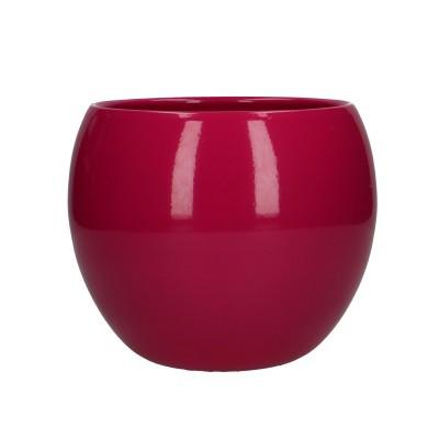 Ball pot d12.5/15*13cm fuchsia