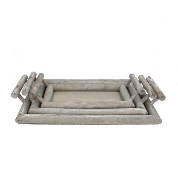 Tray+handle S/3 39.5/25*2.5cm