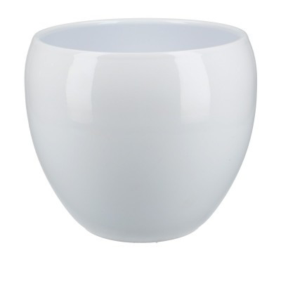 Keramiek pot Ellen d18*18.5cm White
