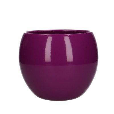 Ball pot d12.5/15*13cm purple