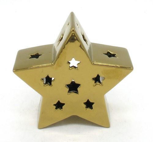 Cer.Star Tl-Holder Gold L17W7H16