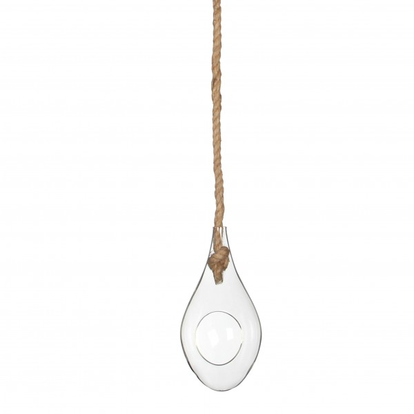 Glass Drop With Rope H20 D10