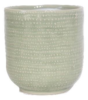 Ceramic Pot Vieste Round Light Green D7H7