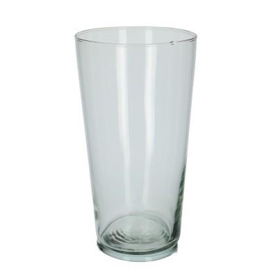Glas Vaas konisch d13.5*25cm