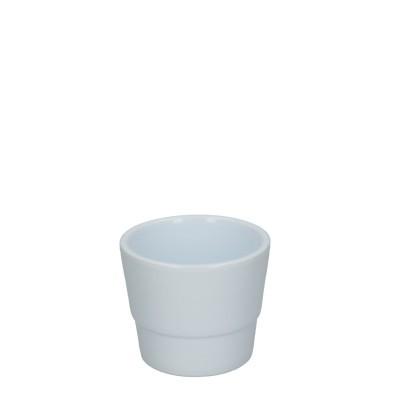 Keramiek pot kim d07*06cm white