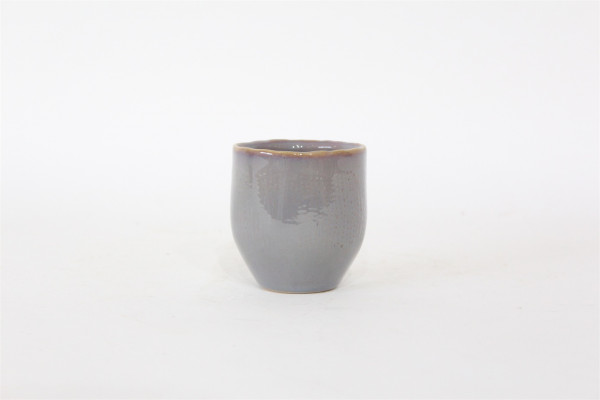 Ceramic Pot Viano Round Grey/Pink D8H7