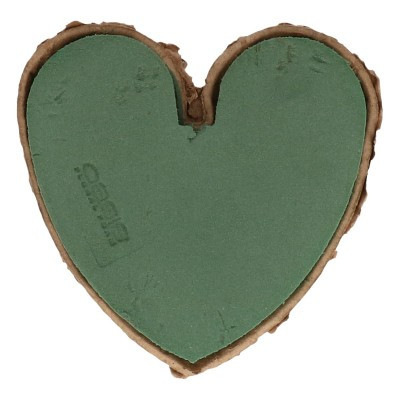 Oasis heart Biodur 15cm