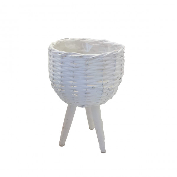 Mand met 3 poten Wit D20 H17/35