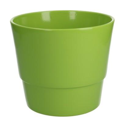Keramiek pot kim d18*15cm Green