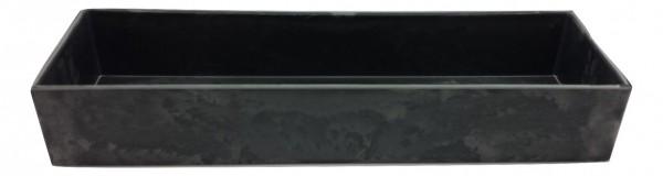 Melamine Tablett Rechteck Grau L42W10H5