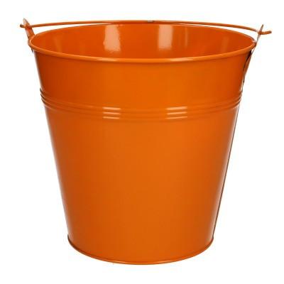 Zink Eimer d20*18.5cm orange