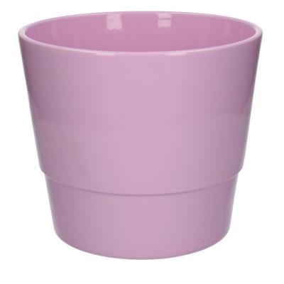 Keramiek pot kim d22*19cm Pink