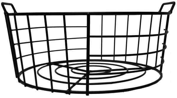 Metal Basket Black H12D31