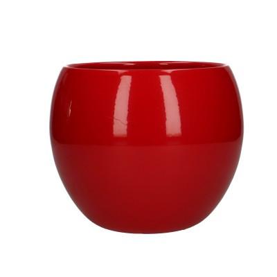 Ball pot d12.5/15*13cm red