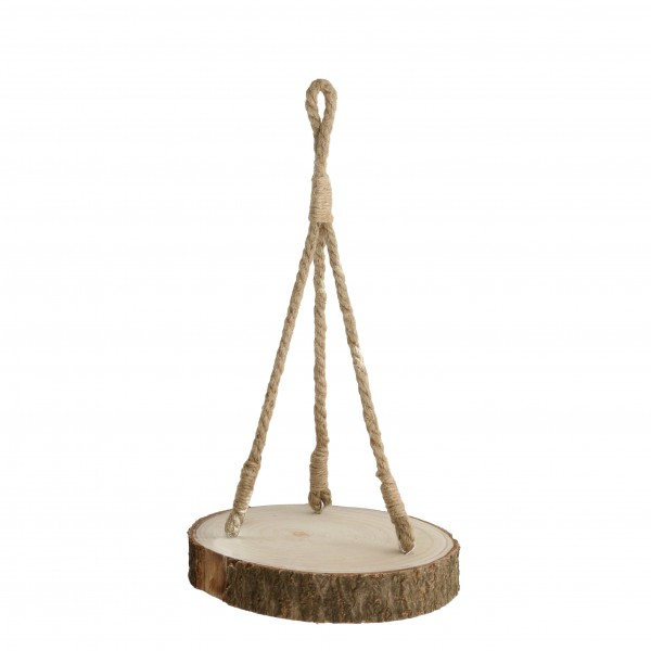 Wood Base With Rope Ø53 H 5