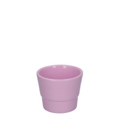 Keramiek pot kim d07*06cm pink