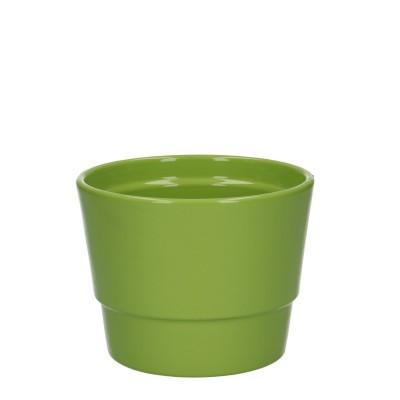 Keramiek pot kim d11.5*9cm Green