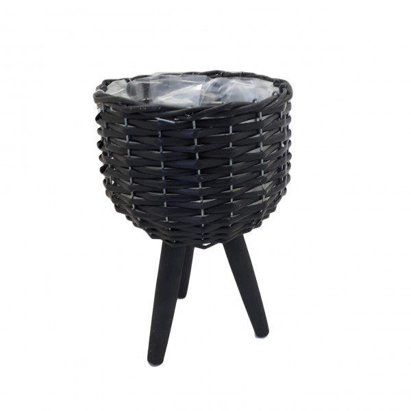 Basket 3 legs Black D26 H20/45