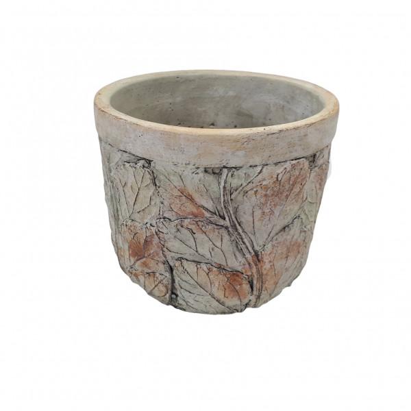 Cement Pot Nembro Round D16.5H15