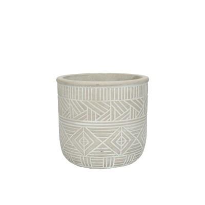Burolo Pot D14*13Cm Grey