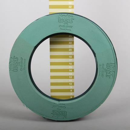 Steckschaum Basic NB Ring 31cm