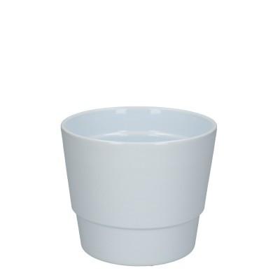 Keramiek pot kim d14.5*12cm white