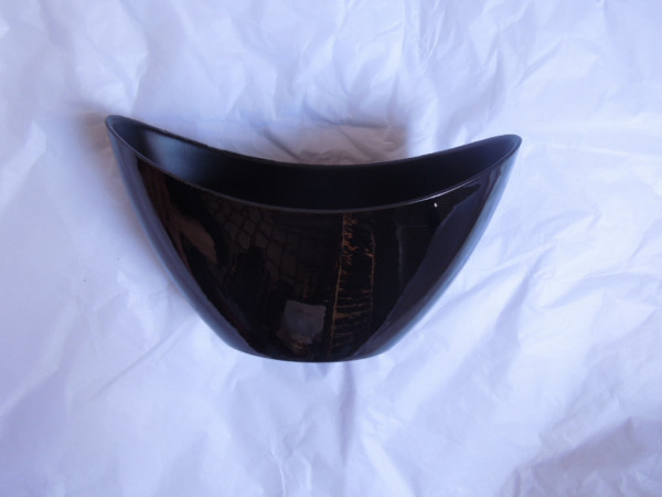 Melamine Black Oval High L20W9H12
