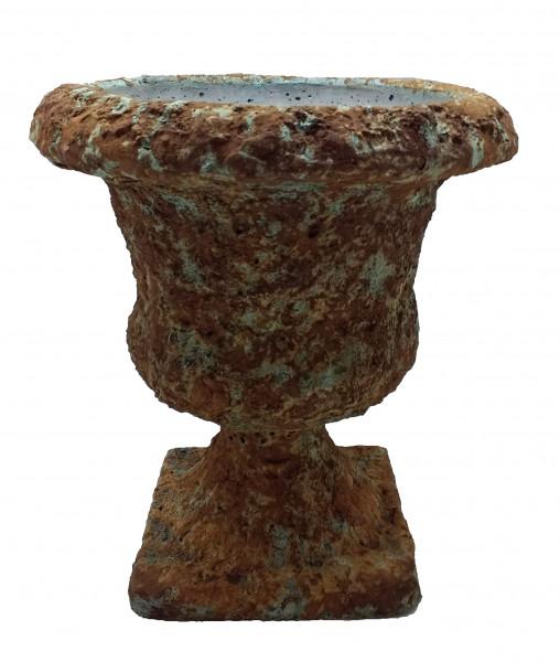 Cement Urn Busachi Rund Rustic D19H21