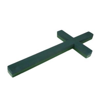 Steckschaum Basic FF kreuz 60*31cm