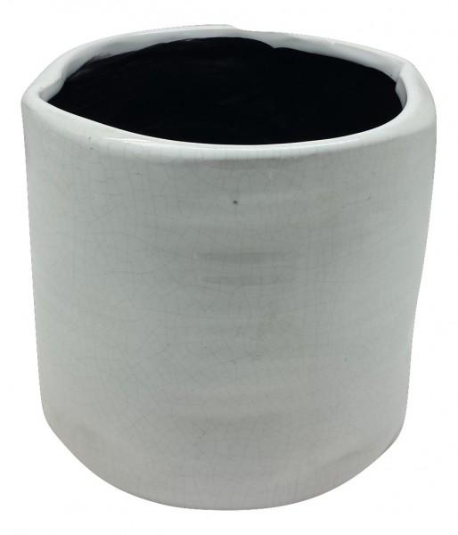 Pot Rotondi Round White D8H8