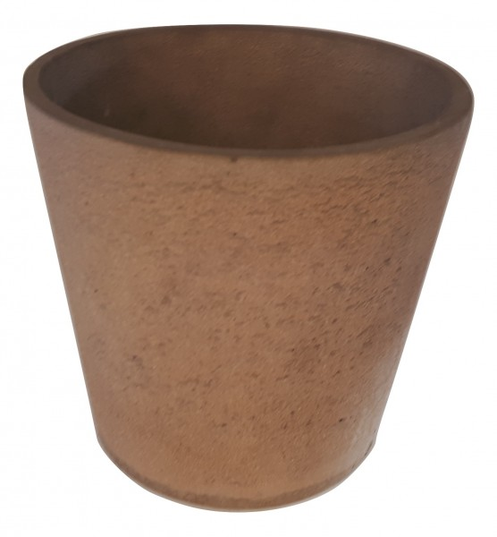 Cement Pot Rond Rovigo Rose D19H18
