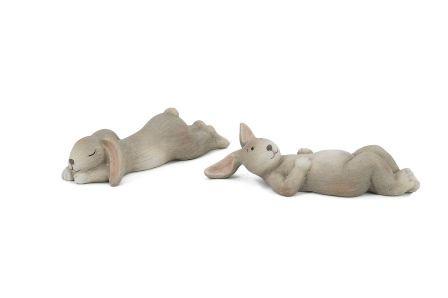 Ceramic Rabbit L16W6,5H4,5 Ass Pc