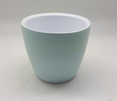 Pot Nola Round Matt Blue D12 H9,5