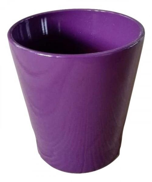 Pot Popoli Round Purple D13H14
