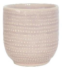 Ceramic Pot Vieste Round Pink D13H13