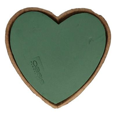 Oasis heart 17*16.5cm