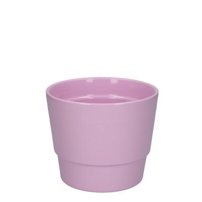 Keramiek pot kim d14.5*12cm pink