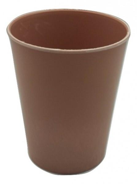 Melamine Pot Rond Perzik Potd13H16