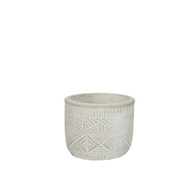 Burolo Pot D11*9Cm Grey