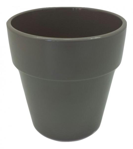 Pot Pavia Round Grey D13H13