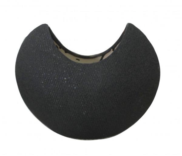 Ceramic Vase Atessa Black L36,5W16H37,5