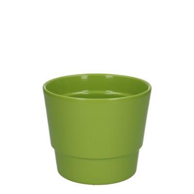 Keramiek pot kim d14.5*12cm Green