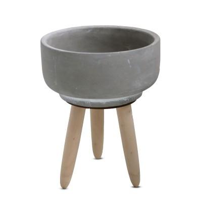 Tischpflanzer Schale d14*17.5cm