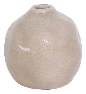 Ceramic Bottle Bobbio Pink D12,5H12