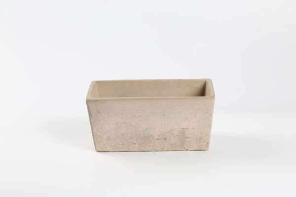 Cement Planter Rovigo Rectangle Pink L23W12H11
