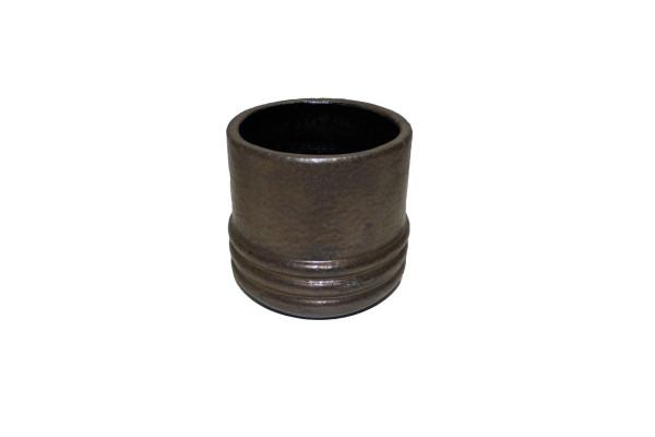 Keramiek Pot Noli D17*16cm Brons