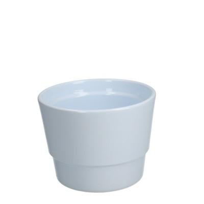 Keramiek pot kim d11.5*9cm white